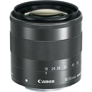 Canon EF-M 18-55mm f/3.5-5.6 IS STM Camera Lens